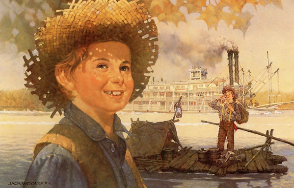 A Contradiction Between Heroism and Human Society: The ...  Huckleberry Finn And Tom Sawyer